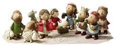 lenox christmas | Käthe Wohlfahrt - Online Shop | Nativity Set, glitter 11-pieces ...