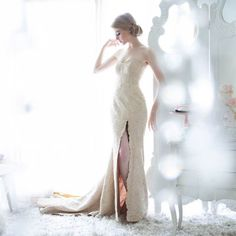 Veronika Vidyanita - Sale: Golden Beaded Gown-The Dresscodes
