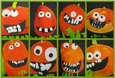 Teaching in the Early Years: Halloween Classroom Art Projects