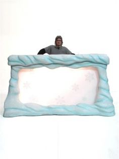 Winter Wonderland DJ Booth Prop/Ice Bar - put this out on the decking and party until the morning or put the outside inside and use it in the main entertainment area.