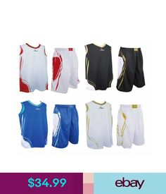 b9910ec3275 Athletic Apparel Swish Basketball Mens Sports Athletic Outfit Top Jersey Shorts  Pants W/Pockets #