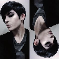 The Effective Pictures We Offer You About christmas cozy A quality picture can tell you many things. You can find the most beautiful … Emo Haircuts, Round Face Haircuts, Haircuts With Bangs, Male Hairstyles, Medium Hair Cuts, Long Hair Cuts, Goth Boy, Emo Guys, Cute Emo