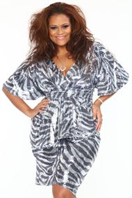 QFD - Perfection Defined: The Plus Sexy Collection - Qristyl Frazier Designs - High Fashion Plus Size Clothing $325
