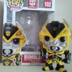 """""""Don't worry about the size of the blaster-worry about the sting!"""" I ordered this little guy earlier this week and did not expect him until next week! Totally awesome way to end the week with #Bumblebee!  #popinabox #funko #funkopop #popvinyl #toys #toycollector #collection #figurine #transformer #transformers #autobots #decepticons #cybertron #primus #automobiles #marvel #robots #robotsindisguise #unicron #bumblebee #vw #chevroletcamaro"""