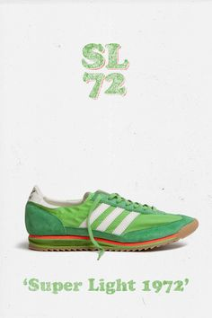 adidas Originals SL 72: Green