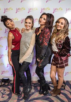 """Little Mix attend the """"Get Weird"""" album launch"""