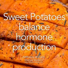 Sweet Potatoes balance hormone production  Learn more about the healing powers of sweet potatoes in Life-Changing Foods, link in profile