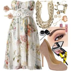 """""""Floral"""" by theheartsclubqueen on Polyvore"""