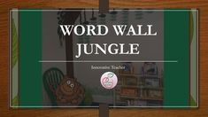 Transform your classroom into a fun and engaging place for learning with this Word Wall Jungle Theme. Work Activities, Teaching Activities, Teaching Ideas, Spring Activities, Teaching Reading, Teacher Resources, Teacher Pay Teachers, Teacher Memes, Teacher Tools