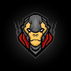 monkey king armored mascot, vector illustration for e sports logo or t shirt illustration and badge - Buy this stock vector and explore similar vectors at Adobe Stock T Shirt Design Vector, Logo Design Template, Corporate Logo Design, Florist Logo, Monkey King, Elegant Logo, Abstract Logo, Logo Color, Monogram Logo