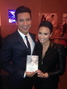 Demi Lovato / Mario Lopez
