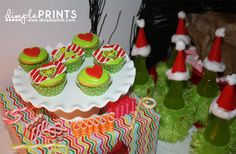 A Grinch Birthday Party - Dimple Prints Grinch Christmas Party, Grinch Party, Christmas Ideas, Party Themes, Party Ideas, Girl Scouts, Best Part Of Me, Festive, Birthday Parties