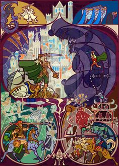 """No Man   17 Passages From """"Lord Of The Rings"""" Beautifully Recreated In Stained Glass"""