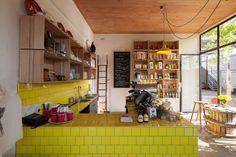 Pope Joan Produce Store Designed by Figureground Architecture Shortisted 2013 Best Retail Design