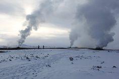 Steamy lands Iceland