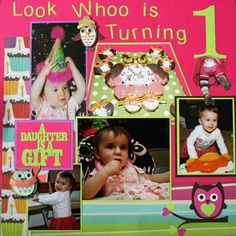 scrapbook birthdays - Google Search