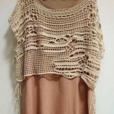 (671) Pinterest | салаты и закуски | Постила Freeform Crochet, Irish Crochet, Crochet Shawl, Crochet Collar, Crochet Blouse, Crochet Top, Crochet Designs, Knitting Designs, Crochet Patterns