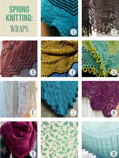 Spring Knitting Round Up