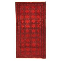 Shop for Herat Oriental Afghan Hand-knotted Tribal Balouchi Wool Rug (2'9 x 5'2). Get free delivery at Overstock.com - Your Online Area Rugs Shop! Get 5% in rewards with Club O!
