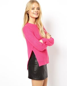 Asos pink knit