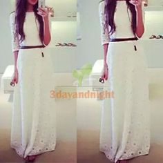 Women-Sexy-Lace-Half-Sleeve-Cocktail-Long-Maxi-Dress-Formal-Evening-Gown-NIGH