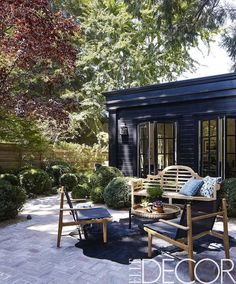 Catching up with a few back issues of Elle Decor over the weekend, I stumbled across the charming and collected California home of i...