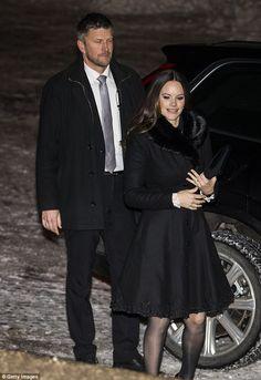 Princess Sofia Of Sweden, Swedish Royalty, Prince Carl Philip, Royal Clothing, Lady In Waiting, Black Ruffle, Royal Fashion, Shirt Dress, Victoria