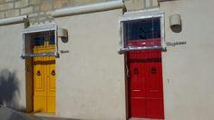 Colorful front doors in Marsaxlokk