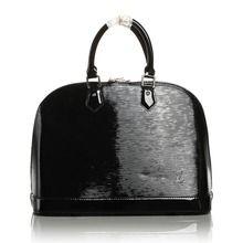 Louis Vuitton Patent Epi Leather Alma GM - Black M5289N  $189.00