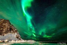 Northern Lights - Eggum, Lofoten Islands, Norway