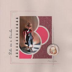 Diy Scrapbook, Page Scrapbooking, Photo Layouts, Unique Photo, Portrait Photo, 1, Deco, Frame, Inspiration