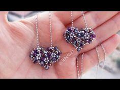 Mini Kalp Cevşen Yapımı || Mini Heart Necklace Making || #DIY #Tutorial - YouTube