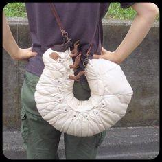 Hercules Beetle Larvae bag, made by @ Amaheso_sp via FB