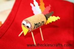 My love of turkeys crossed paths with the cork projects ...