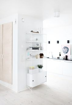 Storage Is An Art, String Shelving System | Apartment From Scratch