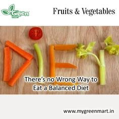 There's no Wrong Way to  Eat a Balanced Diet