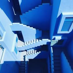 Muralla roja blue 2 photo by beasty . ( on Unsplash Santorini, Hd Photos, Stock Photos, Book Cheap Flights, Pattern Pictures, Spain Travel, Dream Vacations, Pattern Wallpaper, Travel Style