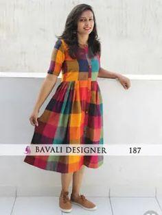 Shop Online Latest Designer Kurtis from Bavali Designer Salwar Designs, Simple Kurti Designs, Kurti Neck Designs, Kurta Designs Women, Indian Kurtis Designs, Latest Kurti Designs, Dress Neck Designs, Designs For Dresses, Blouse Designs