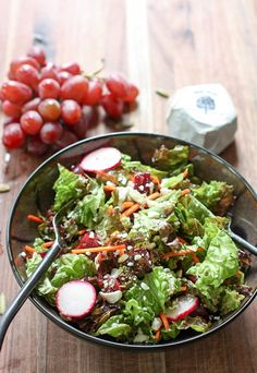 This 'red' themed, antioxidant rich salad is loaded with nutrients and tons of flavor. Perfect for a quick lunch or tasty dinner side.