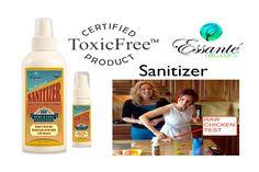 www.essanteorganics.com/natureliving 100% Toxic-Free Disinfectant - Essante Organics Sanitizer For Body & Hom...