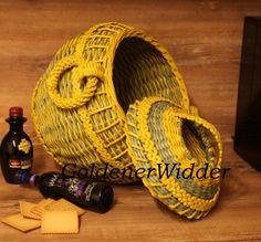 Extotischer Korb in orientalischem Stil von GoldenerWidder auf Etsy