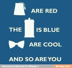 Doctor who pick up lines:)