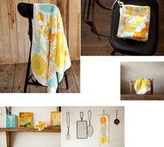 yasashii towel birds&flowers