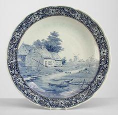 Continental Dutch wall plaque misc. wall item porcelain
