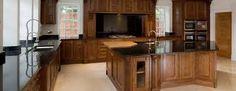 Image result for bespoken oak kitchens