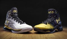 24364c74bb2 Under Armour Celebrates Stephen Curry's Second Consecutive NBA MVP Award  with NBA & Limited Edition Back-to-Back Shoe Pack