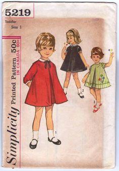 Vintage toddler dress. Inspirations