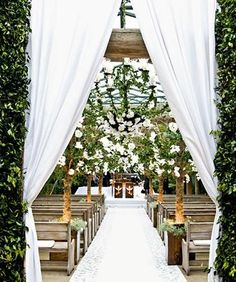 Viver é uma Arte: Casamento no Campo teto aberto
