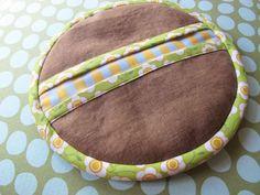 Potholders; My fabric design sewn up as a potholder by http://sewtakeahike.typepad.com/sewtakeahike/2012/09/zakka-style-sew-along-belated.html