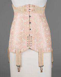 c8dbc67059 Corset 1918-1919 The Metropolitan Museum of Art. Inspiration for  Catharine s corset Vintage Corset